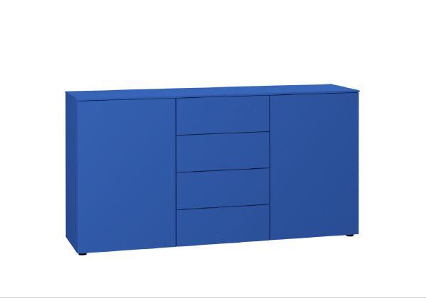 Sideboard / Kommode push blau garda living