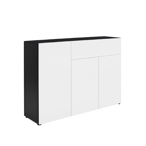kommode anthrazit preisvergleich die besten angebote online kaufen. Black Bedroom Furniture Sets. Home Design Ideas