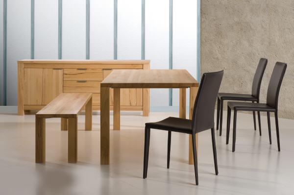 Massiv Holz Tisch Kernbuche 200 X 100 Cm