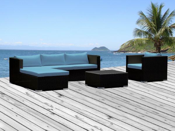 sitzkissen blau preisvergleich die besten angebote. Black Bedroom Furniture Sets. Home Design Ideas
