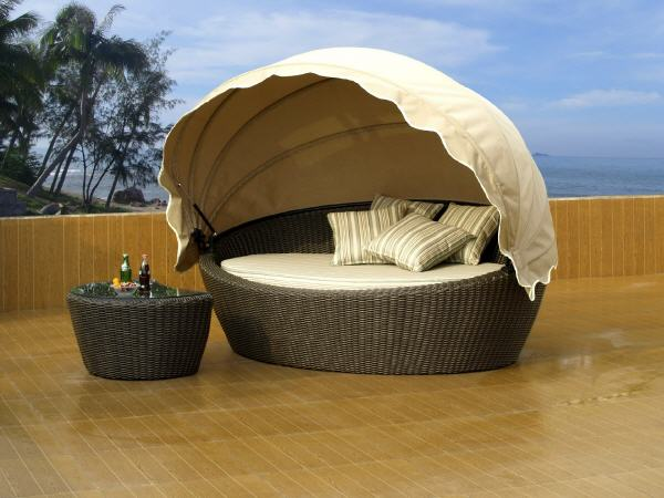 gartenm bel muschel rattan my blog. Black Bedroom Furniture Sets. Home Design Ideas