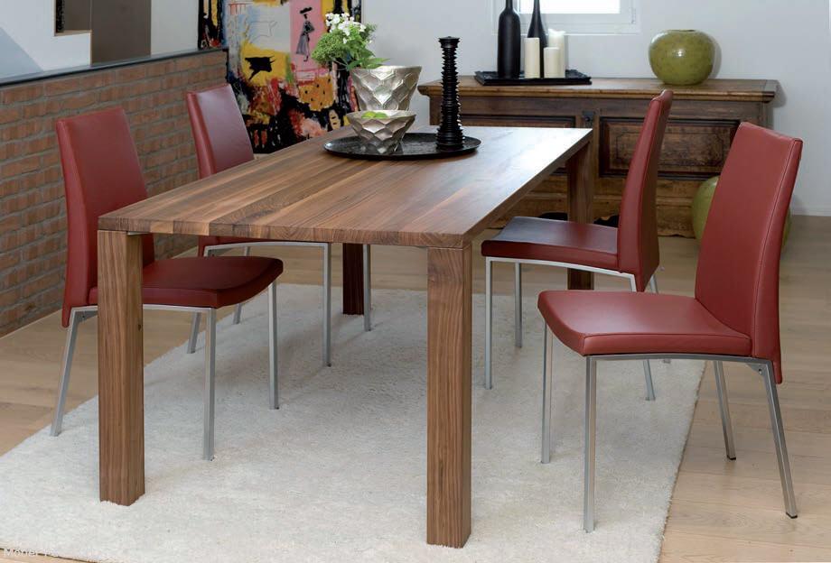 Massiv Holz Tisch Nussbaum