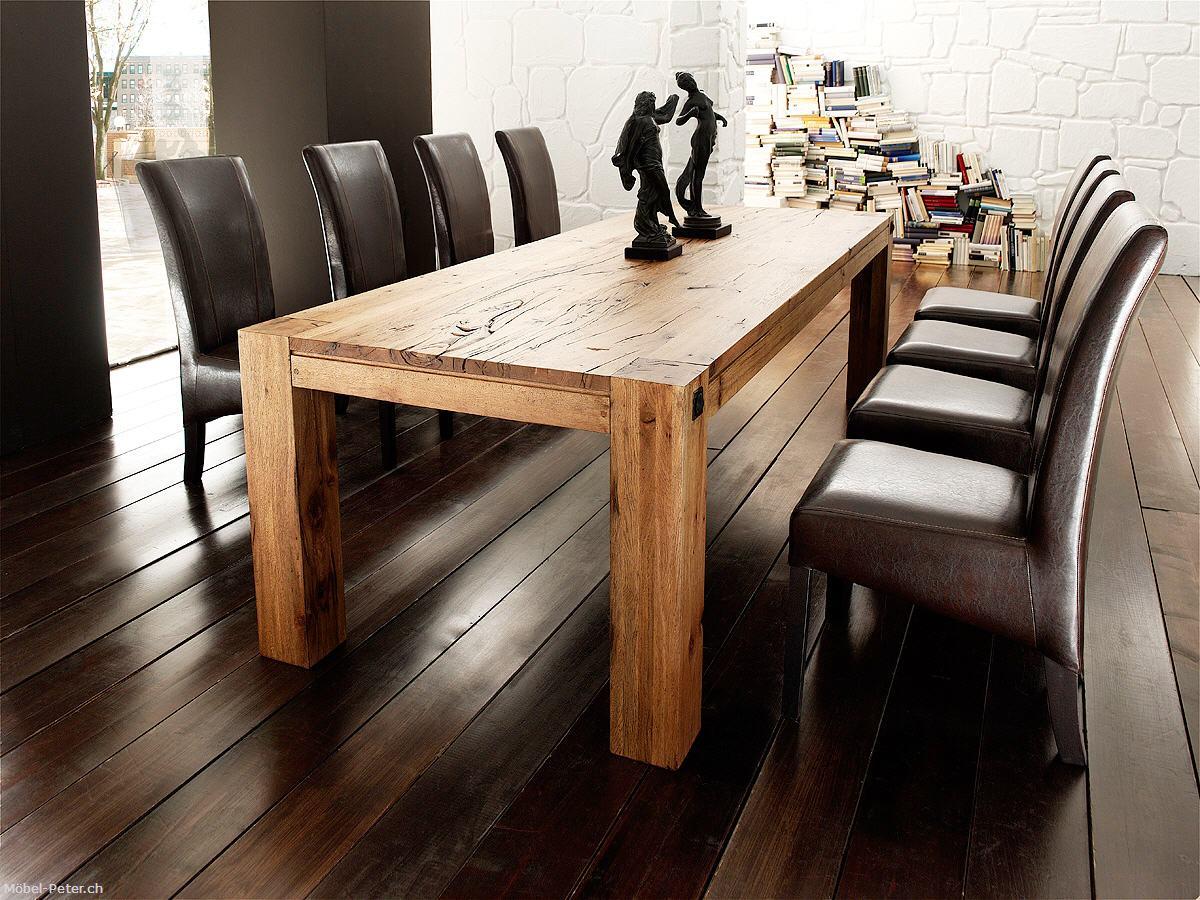 Entzückend Holztisch Eiche Beste Wahl Bassano Lee
